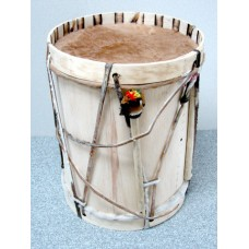 Bombo with Mallet and Drumstick - 14""