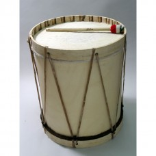 Bombo with Mallet and Drumstick - 18""