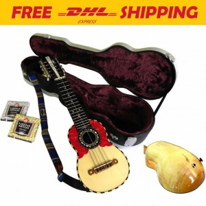 Professional Charango RIVAS with Pickup Piezo  + Hard Case + 2 set of strings