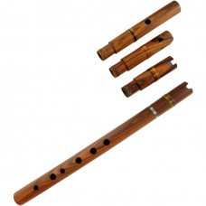 Professional Rosewood Quena / Pinquillo / Traverse - Multiple Mouthpieces
