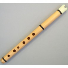 Professional Bamboo Quena/Quenilla - Bone Mouthpiece - Varnished