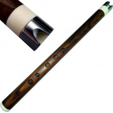 Professional Rosewood MAMA Quena / Quenacho with Bone & Metal Mouthpiece