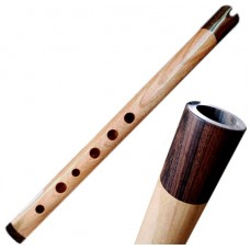 Professional Quena Quenilla or Quenacho made of Cuchi Wood - Rosewood Mouthpiece