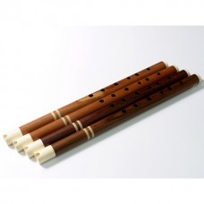 Professional Rosewood MAMA Quena/Quenacho with Bone Mouthpiece and Bone Rings