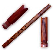 Professional Rosewood MAMA Quena / Quenacho - Adjustable Tuning