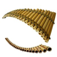 Professional Pan Flute  25- Adjustable Tuning